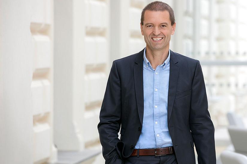 Der Physiker Christof Gattringer ist seit Oktober 2019 Vizerektor für Forschung und Nachwuchsförderung. Foto: Uni Graz/Eisenberger
