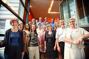 Das Team des Didaktikzentrum für Naturwissenschaften und Mathematik. Foto: Uni Graz/Tzivanopoulos