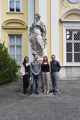 Uni Graz, Tag der Geisteswissenschaften, GEWI, Vortragende Marija Martinović, Eike Düvel, Elisabeth Scherr, Evangelos Evangelinidis