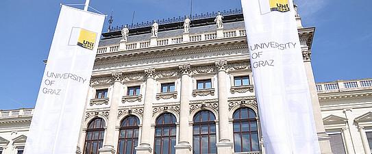 Blickfang, Uni, Hauptgebäude