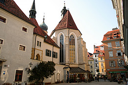 [Translate to English:] Franziskanerkloster © Graz Tourismus – Harry Schiffer