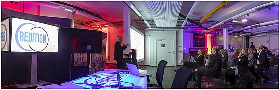 TU Graz, Transmission Center, Credtition