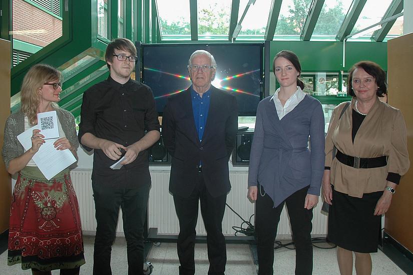 Carina Hutter, Michael Grall, Dr. Werner Fenz, Marie-Therese Mocnik, Eva Schwarz. (v.l.) Foto: Kerstin Jusner.