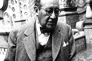 Der Diplomat Isidro Fabela legte Mexikos offiziellen Protest gegen Österreichs Anschluss an Hitlerdeutschland dem Völkerbund vor. Es war der einzige derartige weltweit. Foto: Hermanos Mayo.