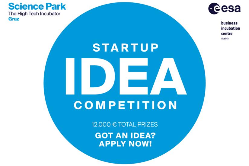 Die Einreichfrist zum Ideenwettbewerb endet am 28. Februar 2020. Grafik: Science Park Graz