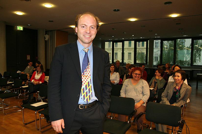 Gastvortrag des Finanzwissenschafters Matthias Sutter über die Effizienz von Quotenregelungen