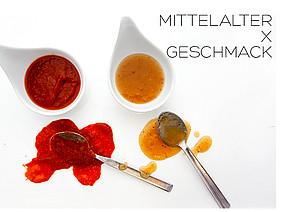 Food, Fotoarchiv OLG, Mittelalteressen, Saucen