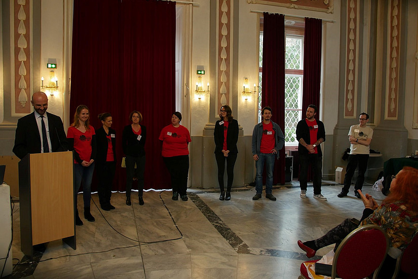 Conference Opening; Picture Credit: Kulturverein Kunstkessel
