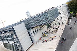 Die Studierenden kehren wieder an den Campus zurück. (Bild: Uni Graz)
