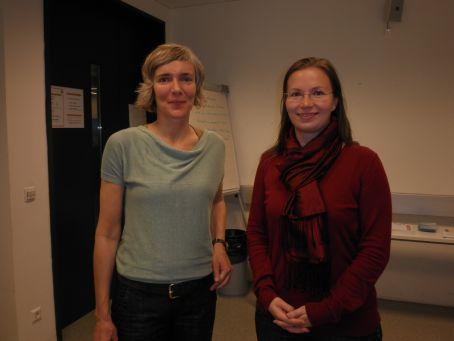 Dr. Elke Bosse (li.) und MMag. Alexandra Dorfer-Novak (re.)