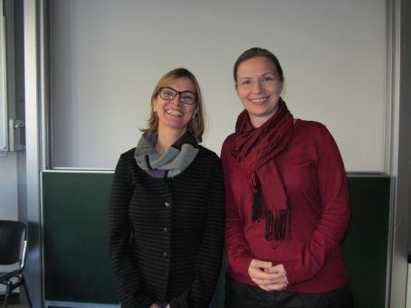 Mag. Michaela Gindl (li.) und MMag. Alexandra Dorfer-Novak (re.)