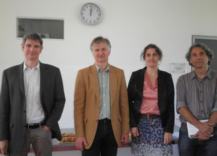 Dr. Christian Pippan, Dr. Alfred Posch, Dr. Silvia Schultermandl und Dr. Rudolf Egger (von li. nach re.)