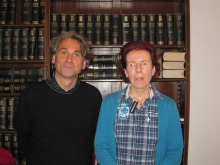 Dr. Rudolf Egger (li) und Mag. Barbara Levc (re)