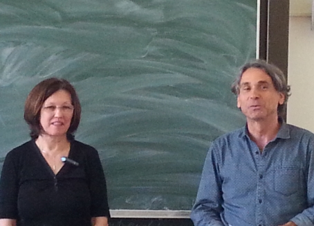 Univ.-Prof. Regine Porsch (li) und Univ.-Prof. Dr. Rudolf Egger (re)