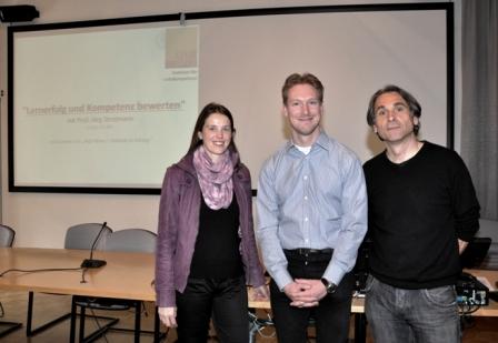 Dr. Gudrun Salmhofer, Dr. Jörg Stratmann, Dr. Rudolf Egger (von li. nach re.)