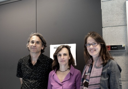 Dr. Rudolf Egger, Dipl.-Psych. Santina Battaglia, Dr. Gudrun Salmhofer (von lli. nach re.)