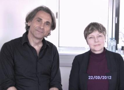 Dr. Rudolf Egger (li.) und Petra Jordan, M.A. (re.)
