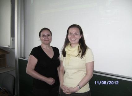 Dr. Silvia Macher (li.) und MMag. Alexandra Dorfer-Novak (re.)