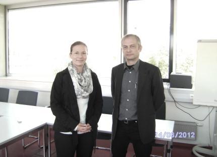 MMag Alexandra Dorfer-Novak (li.) und Dr. Thomas Pfeffer (re.)