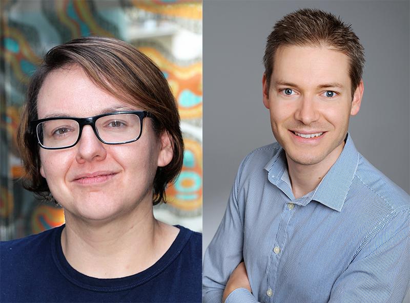 Gabriele Schoiswohl und Christoph Heier forschen gemeinsam zur Fettverteilung in verschiedenen Organismen. Fotos: KK.