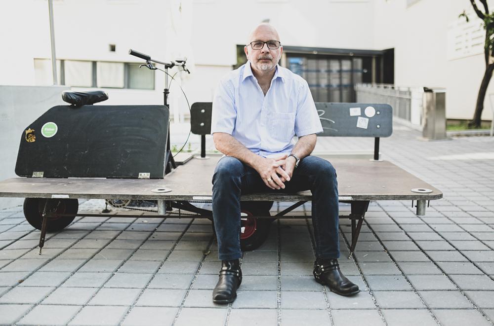 """Wolfgang Fischer: """"Die persönliche Betroffenheit reicht meist nicht aus, um etwas zu ändern."""" Foto: Uni Graz/Tzivanopoulos"""
