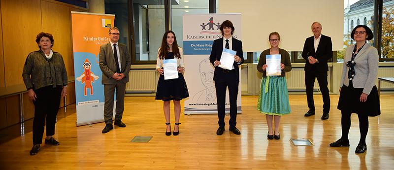 ... und Physik. Alle Fotos: Uni Graz/Leljak.