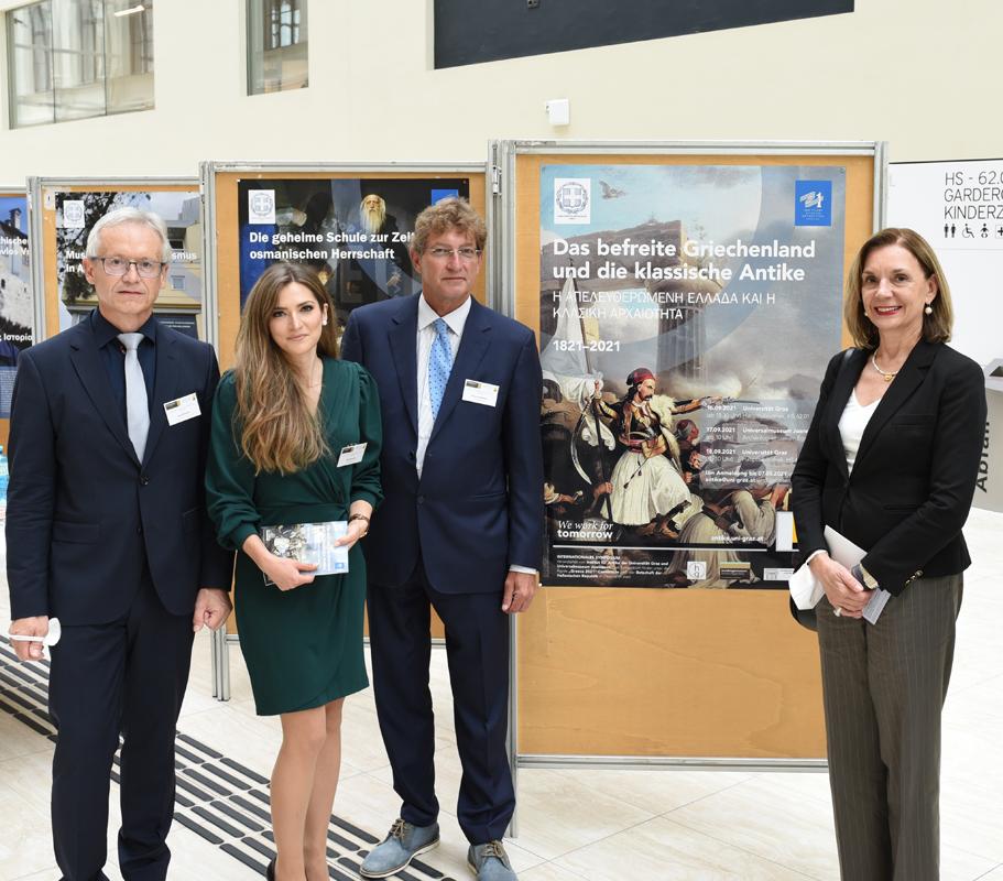 Das befreite Griechenland und die klassische Archäologie waren Thema eines Symposiums an der Uni Graz. Foto: Uni Graz/Tzivanopoulos