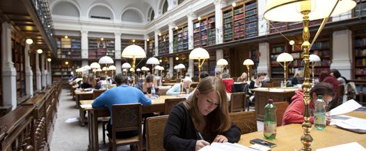 banner bibliothek