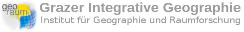 Logo und Titel des Instituts für Geogrpahie und Raumforschung